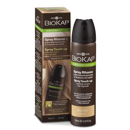 Средство оттеночное для закрашивания отросших корней волос тон блондин (blond) biokap