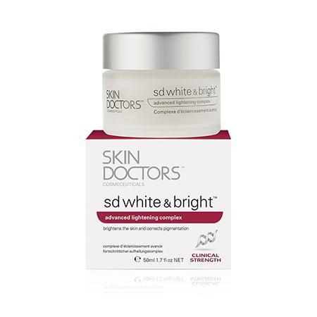 Отбеливающий крем для лица и тела sd white  bright skin doctors