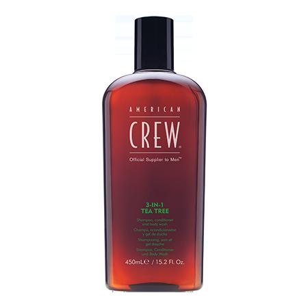 Средство для волос 3 в 1 чайное дерево 450 мл american crew (American Crew)