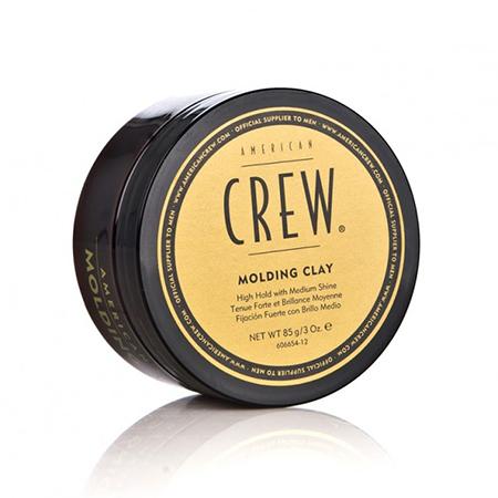 Формирующая глина сильной фиксации со средним уровнем блеска для укладки волос classic molding clay 85 г american crew (American Crew)
