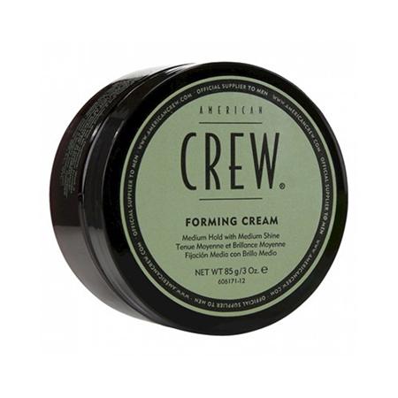 Универсальный крем со средней фиксацией и средним уровнем блеска  для укладки для всех типов  волос forming cream 85 г american crew (American Crew)