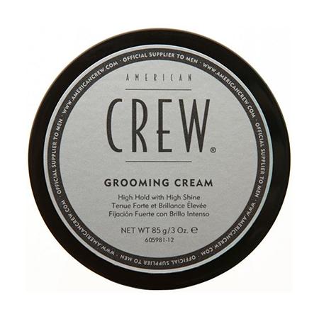 Крем с сильной фиксацией и высоким уровнем блеска для укладки волос и усов grooming cream 85 г american crew (American Crew)