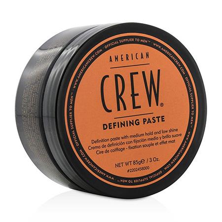 Паста со средней фиксацией и низким уровнем блеска для укладки волос defining paste 85 г american crew (American Crew)