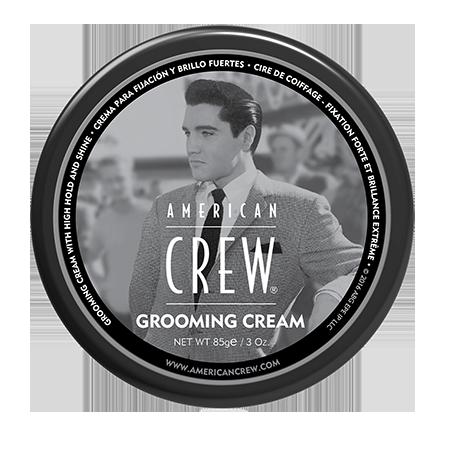Крем с сильной фиксацией и высоким уровнем блеска для укладки волос и усов king grooming cream 85 г american crew (American Crew)