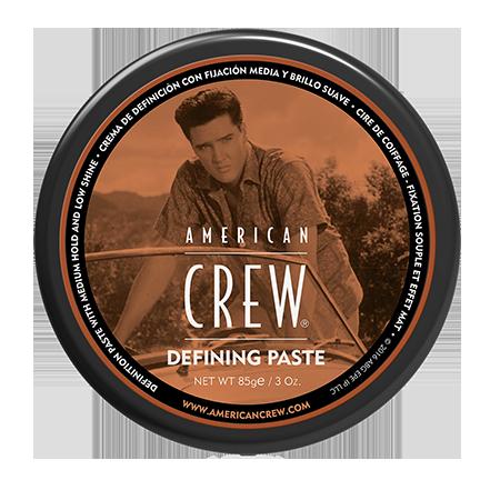 Паста со средней фиксацией и низким уровнем блеска для укладки волосking defining paste 85 г american crew (American Crew)