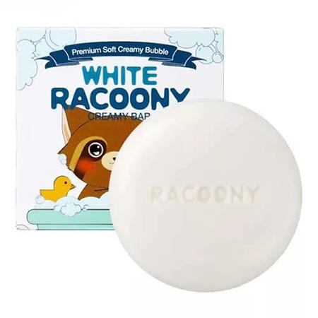 Мыло кремовое осветляющее white racoony creamy bar 85гр secret key