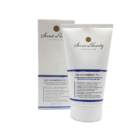 Универсальный минерально-солевой гель для глубокой очистки кожи лица mix биобьюти (Биобьюти)