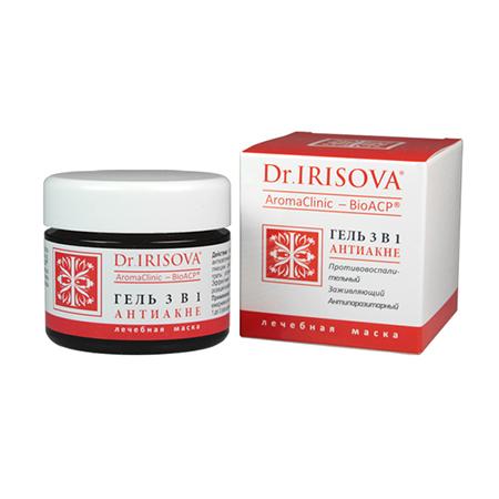 Гель 3 в 1 лечебная маска dr.irisova (Dr.Irisova)