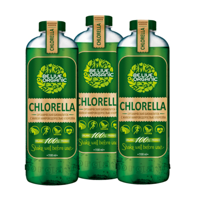 Напиток с живой хлореллой - полный курс be.live.organic