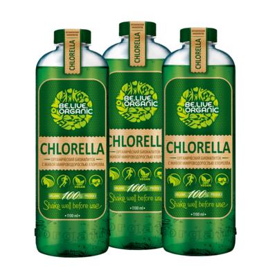 Напиток с живой хлореллой 10 шт be.live.organic