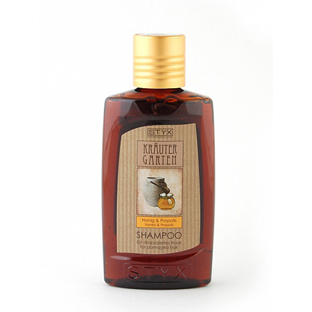 Шампунь мёд-прополис регенерирующий 200 мл styx