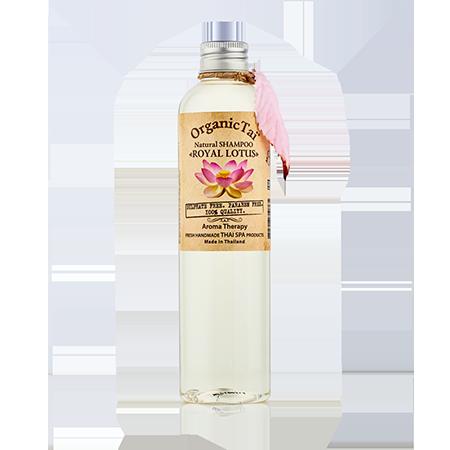 Натуральный шампунь для волос королевский лотос organic tai