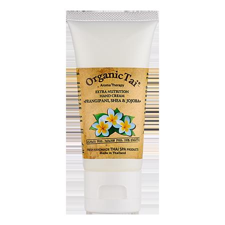 Экстрапитательный крем для рук франжипани, ши и жожоба organic tai