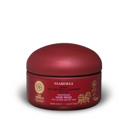 Увлажняющая маска для волос для сухих и окрашенных волос saaremaa natura siberica