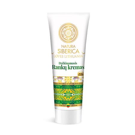 Увлажняющий крем для рук органический экстракт липы и экстракт шалфея loves lithuania natura siberica