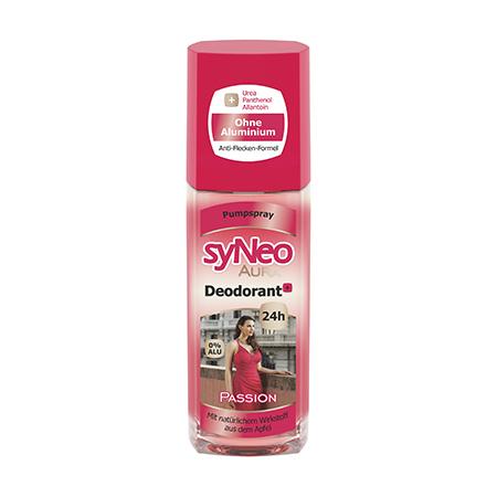 Дезодорант с цветочным ароматом  aura  passion syneo