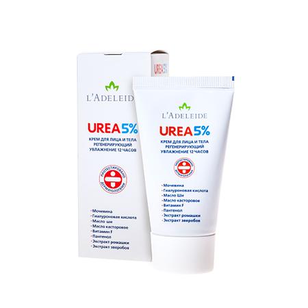 Крем для лица и тела urea 5% ladeleide