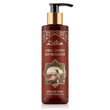Глубоко восстанавливающий фито-шампунь для сильно поврежденных волос зейтун