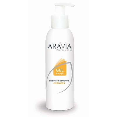 Гель перед депиляцией (для обезжиривания кожи) aravia professional