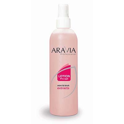 Лосьон перед депиляцией (с мятой и березой) aravia professional (Aravia)