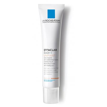 Корректирующий крем-гель для проблемной кожи с тонирующим эффектом effaclar duo(+) la roche posay