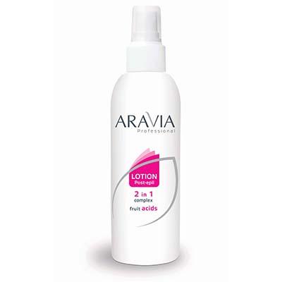 Лосьон 2 в 1 замедляющий рост волос и против вросших волос aravia professional (Aravia)