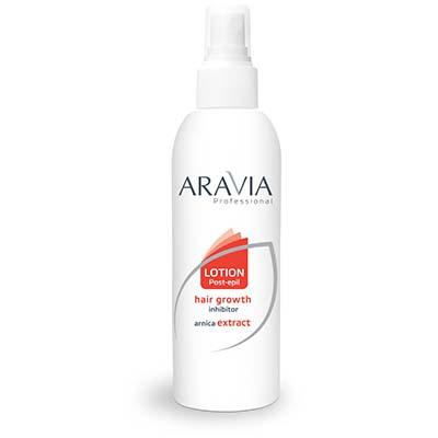 Лосьон замедляющий рост волос (с экстрактом арники) aravia professional