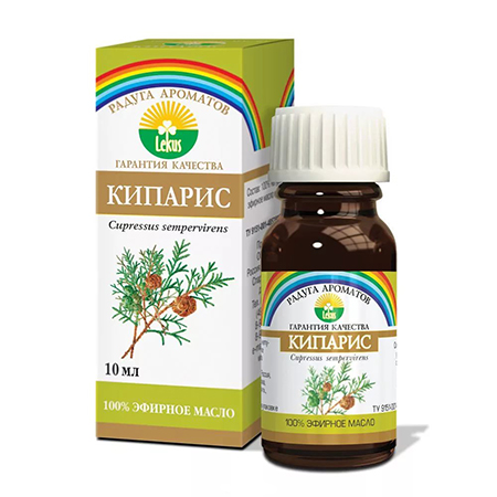 Эфирное масло кипарис 10 мл lekus