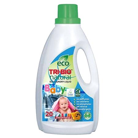 Натуральная эко жидкость для стирки детского белья tri-bio
