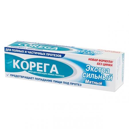 Крем для фиксации зубных протезов экстра corega (Corega)