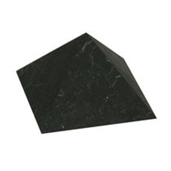 Пирамида неполированная 10 см шунгит (Шунгит)