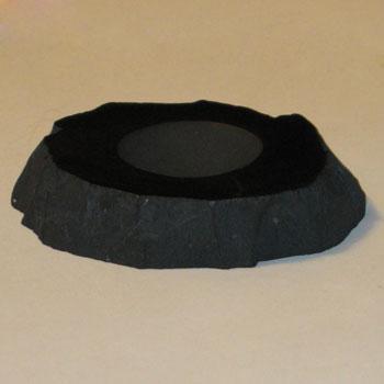 Подставка под шары/яйца 9-10 см шунгит (Шунгит)