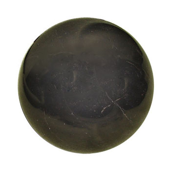 Полированный шар 100 мм шунгит
