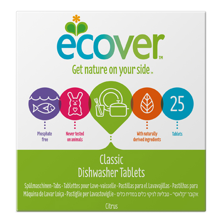 Экологические таблетки (для посудомоечной машины) ecover (500 гр) (Ecover)
