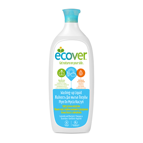 Экологическая жидкость (для мытья посуды) с ромашкой ecover (500 мл) (Ecover)