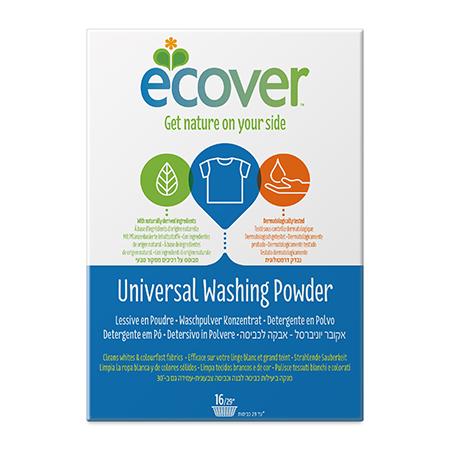 Экологический стиральный порошок-концентрат (универсальный) ecover (1,2 кг) (Ecover)