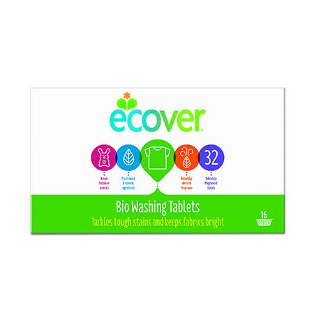 Экологические таблетки (для стирки) 32 штуки ecover (Ecover)