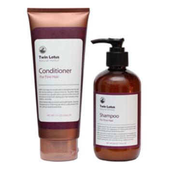 Набор: шампунь и кондиционер для нормальных волос twin lotus (Twin Lotus)