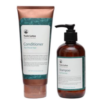 Набор: шампунь и кондиционер для жирных волос twin lotus (Twin Lotus)