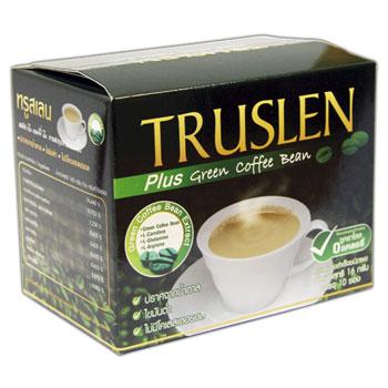 Напиток кофейный green coffee зеленый кофе truslen