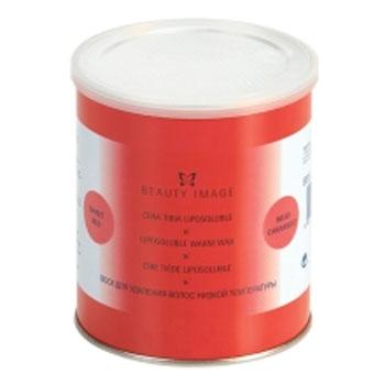 Баночка с воском красный натуральный (для любого типа кожи) beauty image (Beauty Image)