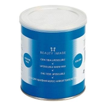 Баночка с воском синий натуральный (для чувствительной кожи) beauty image (Beauty Image)