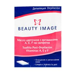 Салфетка с цветочным маслом (после депиляции) beauty image (Beauty Image)