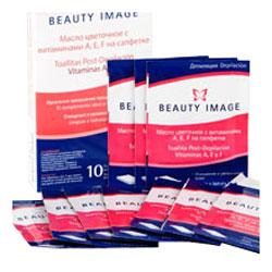 Салфетки с цветочным маслом (после депиляции) beauty image (Beauty Image)