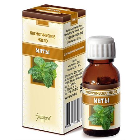 Масло мяты (снимает воспаления и раздражения) эльфарма