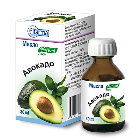 Масло авокадо (для тела, рук и волос) эльфарма