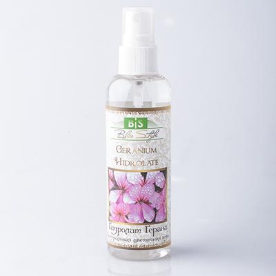 Натуральная цветочная вода из герани амрита (Амрита)