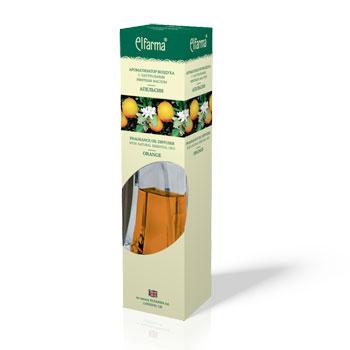 Ароматизатор воздуха с натуральным эфирным маслом апельсина эльфарма (Эльфарма)