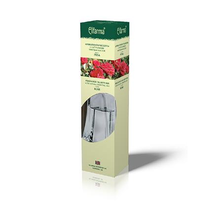 Ароматизатор воздуха с натуральным эфирным маслом розы эльфарма (Эльфарма)