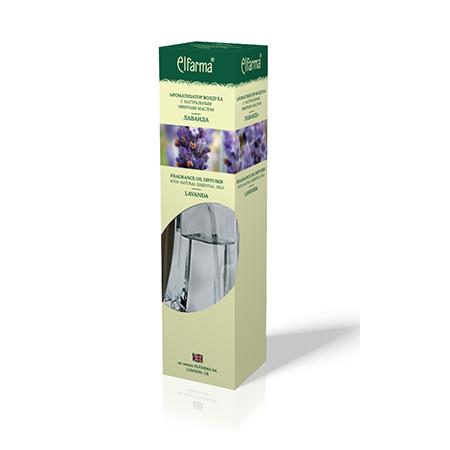 Ароматизатор воздуха с натуральным эфирным маслом лаванды эльфарма (Эльфарма)